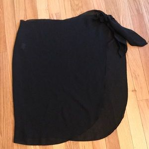 Bathing suit cover up wrap